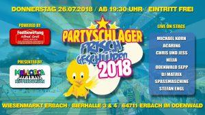 Acarina and Friends - Partyschlager frisch geschlüpft @ Wiesenmarkt Erbach