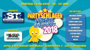Acarina and Friends - Partyschlager frisch geschlüpft @ Hotel und Restaurant Rheingold